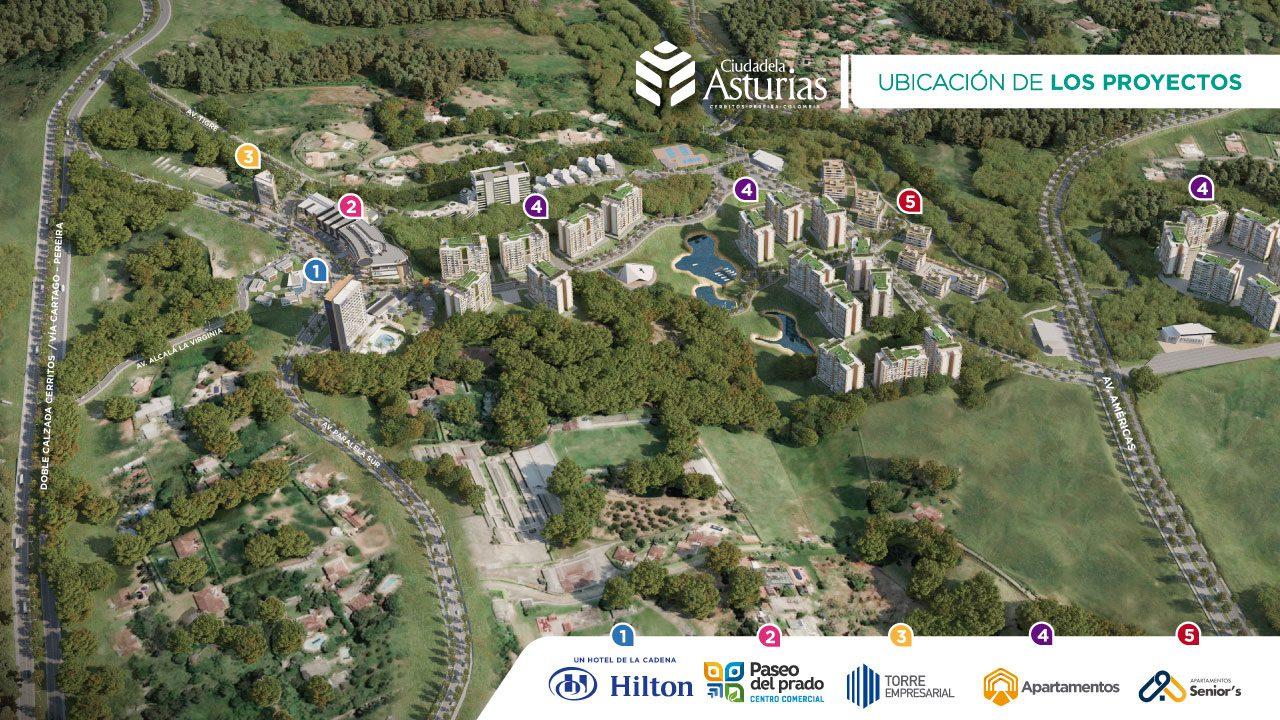 Puntos más importantes de Ciuadela Asturias